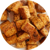 Tofu arrostito